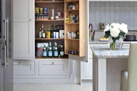 small kitchen pantry idea