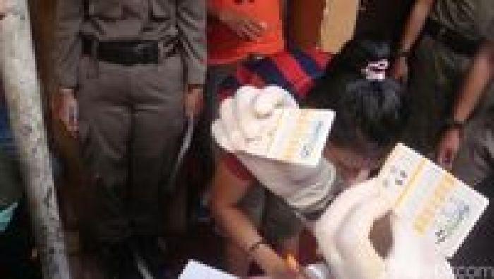 Foto Model Seksi Amel Alvi Terjaring Razia Narkoba di Makassar
