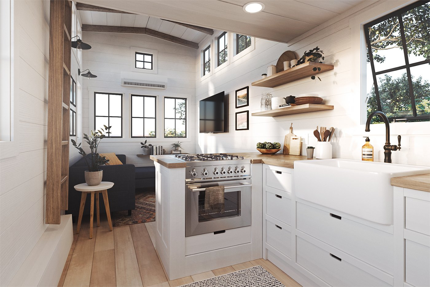 Cushty Tiny House Companies That Can Make Your Dreams Come True Tiny House Companies That Can Make Your Dreams Come Timbercraft Tiny Homes Denali Xl Sale Timbercraft Tiny Homes Instagram houzz-02 Timbercraft Tiny Homes