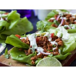 Small Crop Of Ground Turkey Tacos