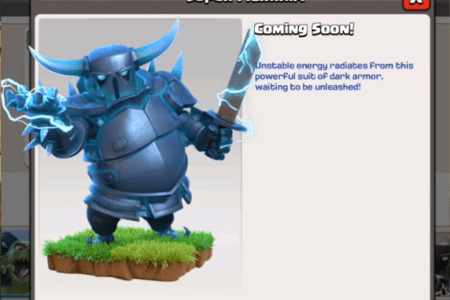 clash of clans upcoming troops the super p e k k a