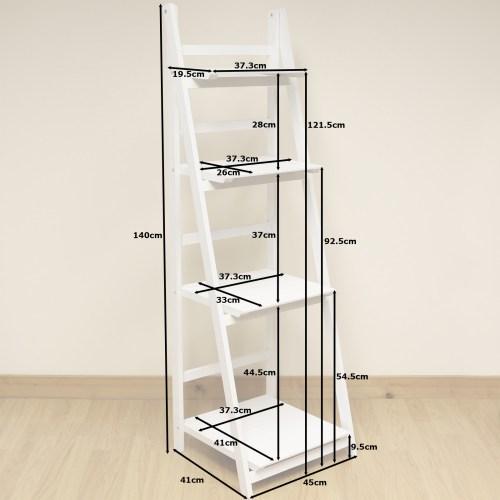 Medium Crop Of White Ladder Shelf