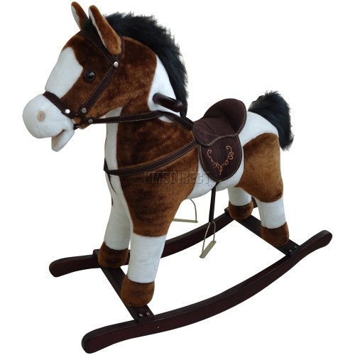 Medium Crop Of Wooden Rocking Horse