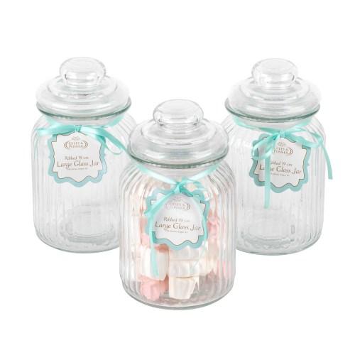 Medium Of Large Glass Jars