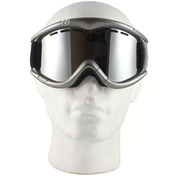 Electric EG1 snowboard ski goggles 2011 in Metallic Silver