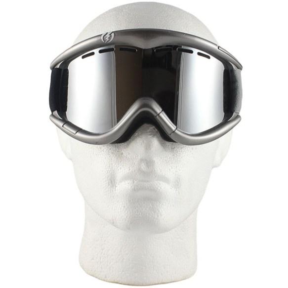Electric EG1 snowboard ski goggles 2011 in Metallic Silver