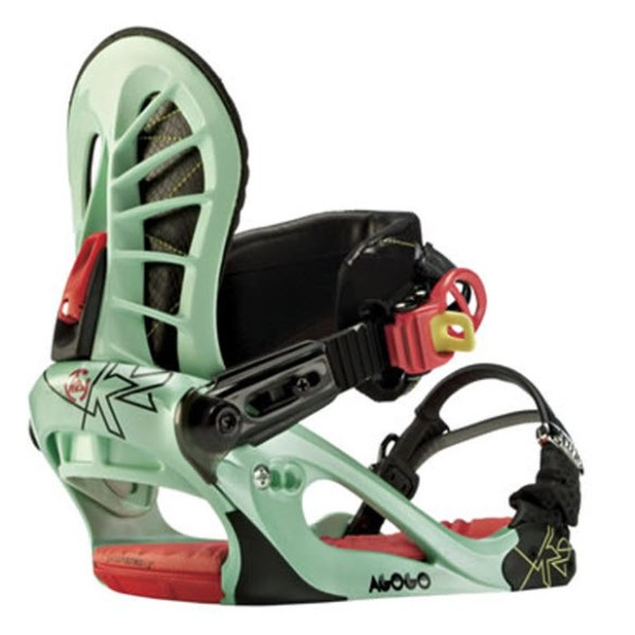 K2 Agogo Womens Small Snowboard Bindings 2012 in Mint