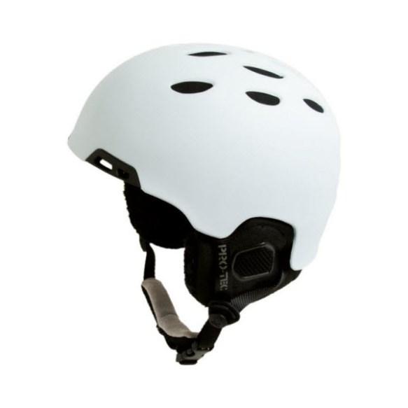 ProTec Vigilante Snowboard Helmet 2010 in Matte White