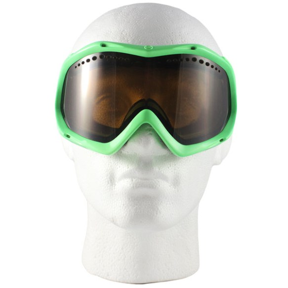 Vonzipper Bushwick snowboard ski goggles 2010 in Mashup Lime with Bronze lens