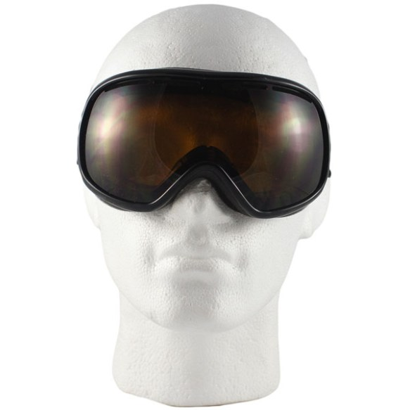 Von Zipper Chakra snowboard ski goggles in Black with Bronze lens