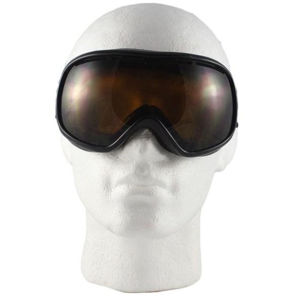 Von Zipper Chakra snowboard ski goggles in Black with Bronze lens