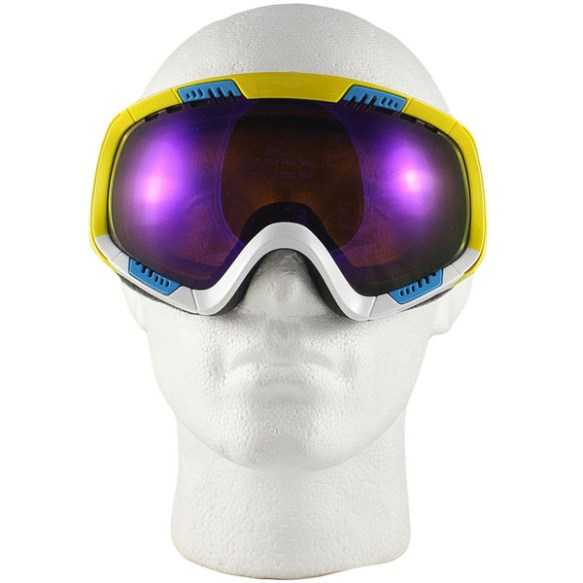 Von Zipper Feenom snowboard ski goggles 2012 in Color Blok Astro Chrome lens