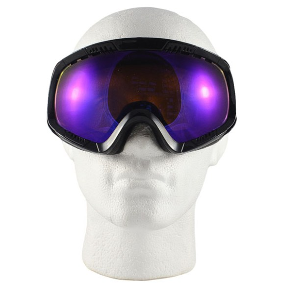 Von Zipper Feenom snowboard ski goggles 2012 in Black Gloss Astro Chrome Lens