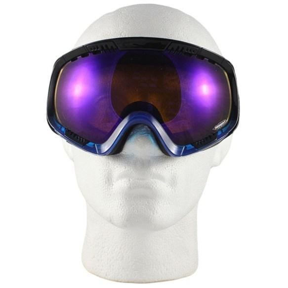 Von Zipper Feenom snowboard ski goggles 2012 in Bobblegum Blue Astro Chrome lens