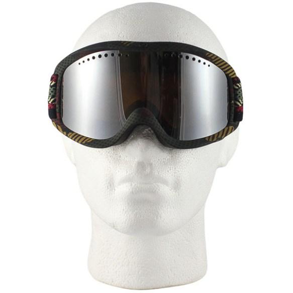 Vonzipper Sizzle snowboard ski goggles 2012 Bob Marley with Bronze Chrome lens