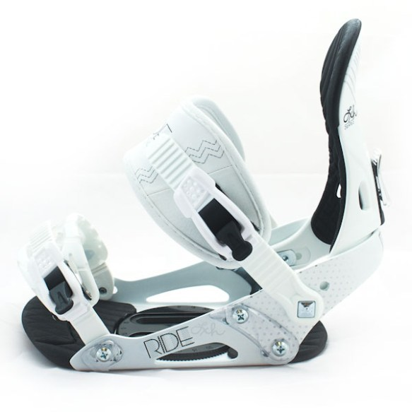 Ride LXH Womens Snowboard Bindings 2012 in White various sizes