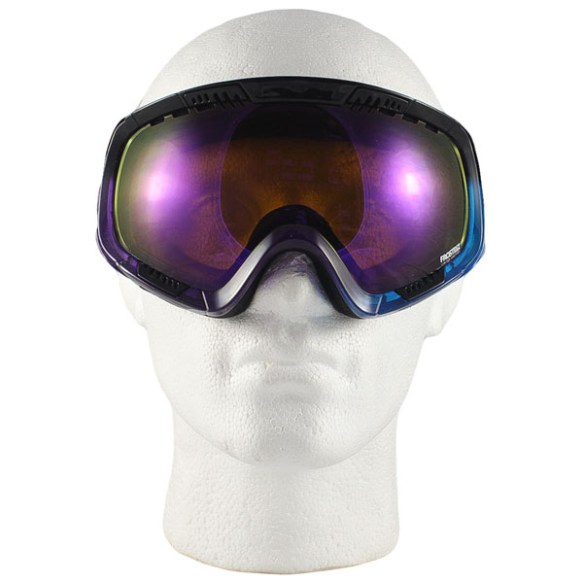 Von Zipper Feenom snowboard ski goggles 2013 Frosteez Purple Blue Astro chrome