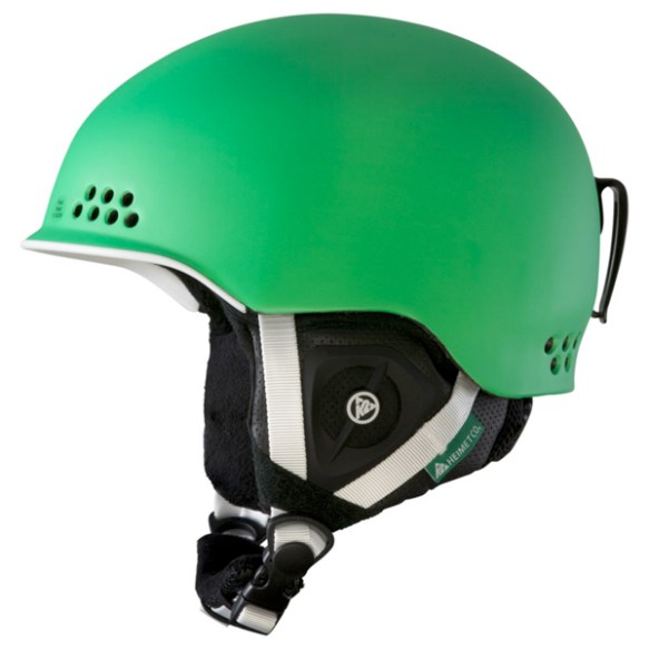 K2 Rival Pro Ski Snowboard Audio Helmet 2013 in Green
