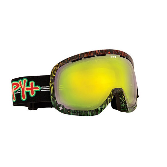 Spy Marshall Sailin On Snowboard Ski Goggles Yellow Green Spectra 2013