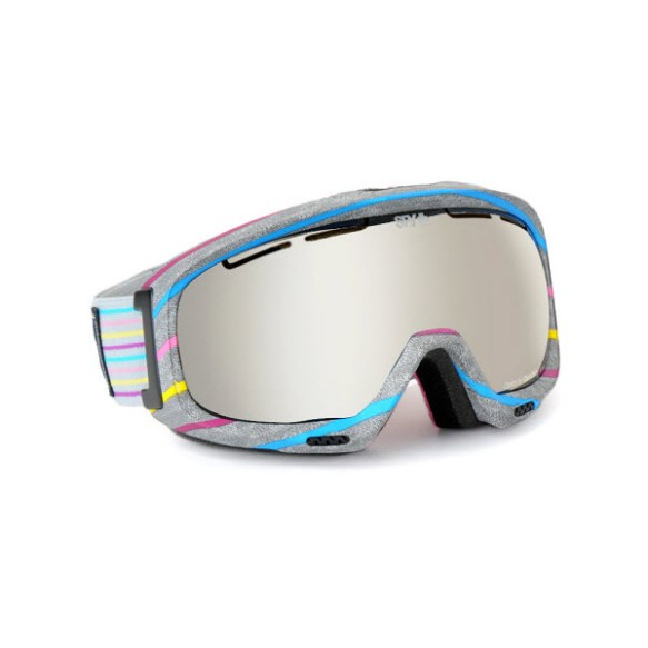 Spy Bias Candy Coated Snowboard Ski Goggles Bronze Silver Mirror 2013