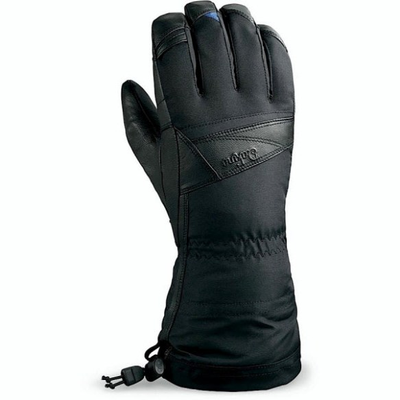 Dakine Womens Sahara Snowboard Ski Gloves 2013 Black Medium