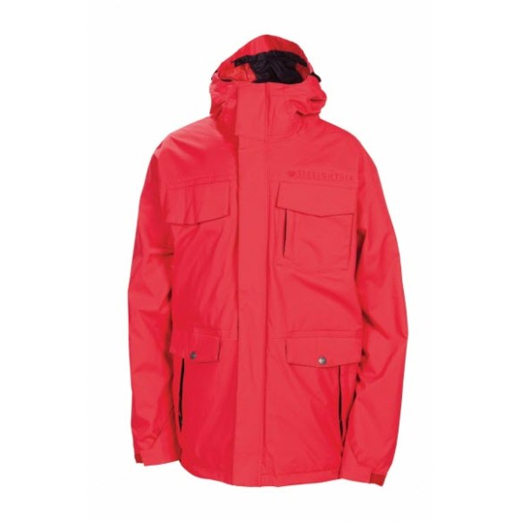 686 Smarty Command Mens Snowboard Jacket Red 2013