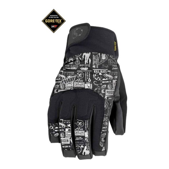 Pow Gloves Sniper GTX Snowboard Mittens 2013 in White