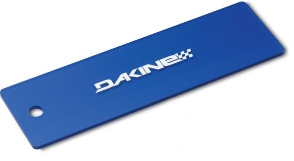 Dakine 10'' Plastic Wax Snowboard Ski Scraper In Blue