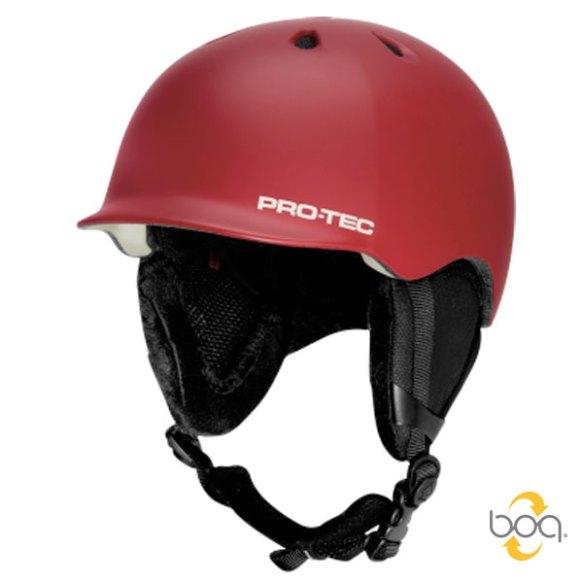 ProTec Riot BOA Snowboard Helmet 2013 in Deep Red