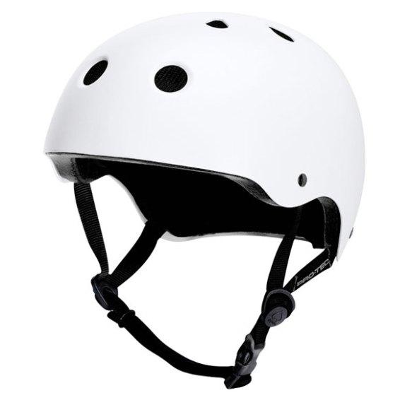 ProTec Classic Lite Snowboard Ski Bike Skate Helmet 2013 in Satin White