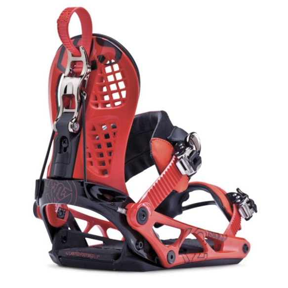 K2 Cinch CTS 2014 Snowboard Bindings Red 2014