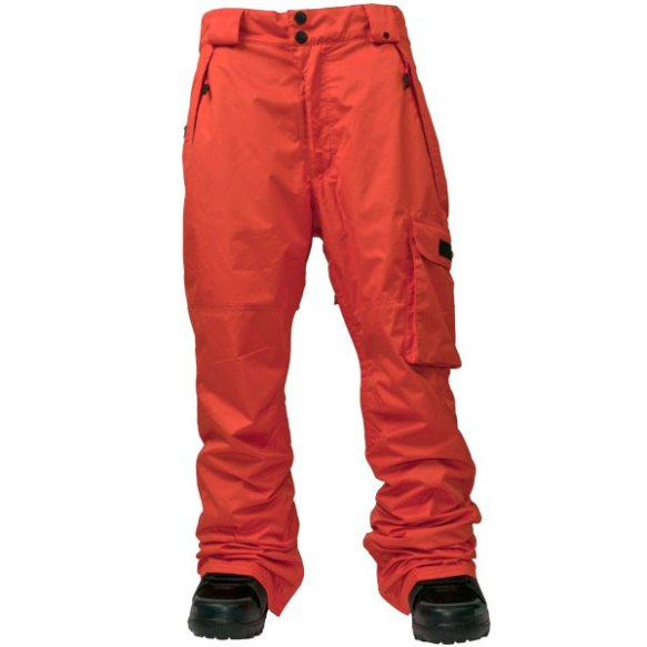 Thirtytwo Basement SMU Snowboard Pant 2013 in Orange