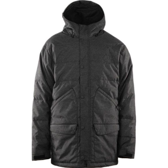 Thirtytwo Bastilone Snowboard Jacket 2013 in Black Rinse