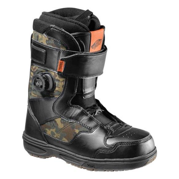 Vans Matlock BOA Snowboard Boots 2013 in Black Camo