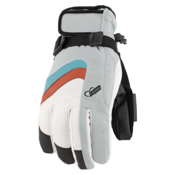 Pow Gloves Womens Astra Gloves Snowboard Ski New 2013 Grey Various Sizes