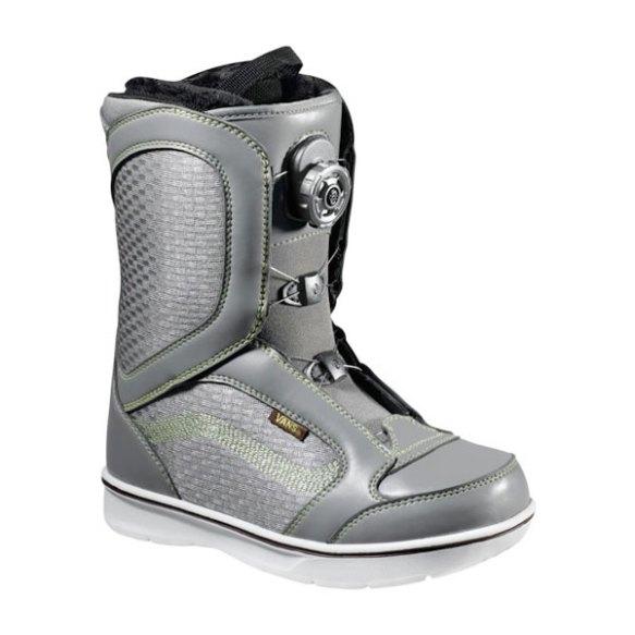 Vans Encore BOA Womens Snowboard Boots 2013 in Grey Green