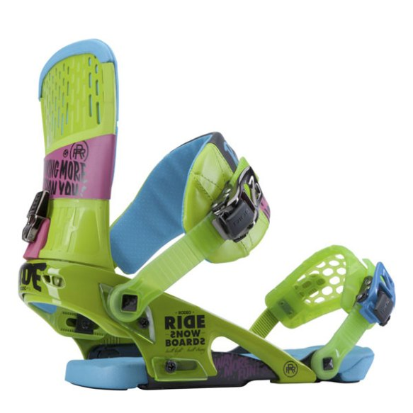 Ride Rodeo Snowboard bindings Green 2014