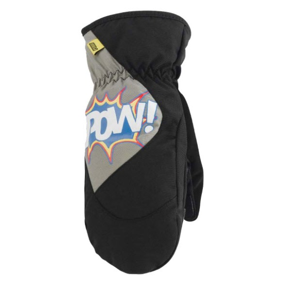 Pow Gloves Grom Mitt Black 2013 in small medium S/M