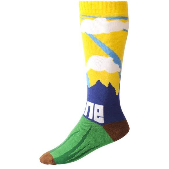 Scene Socks snowboard ski sock 2014 Landscape