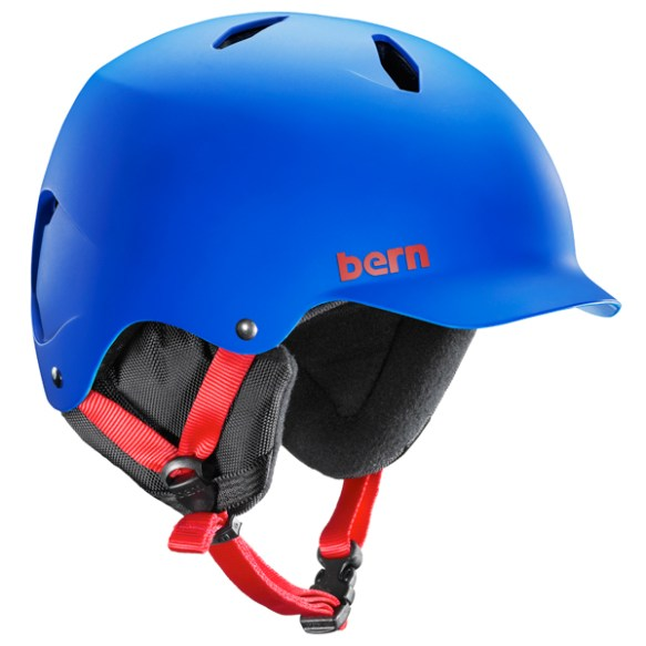 Bern Bandito EPS Junior snowboard ski skate Helmet 2014 in Matte Cobalt Blue