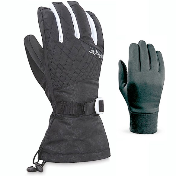 Dakine Womens Camino Gloves 2013 in Flourish