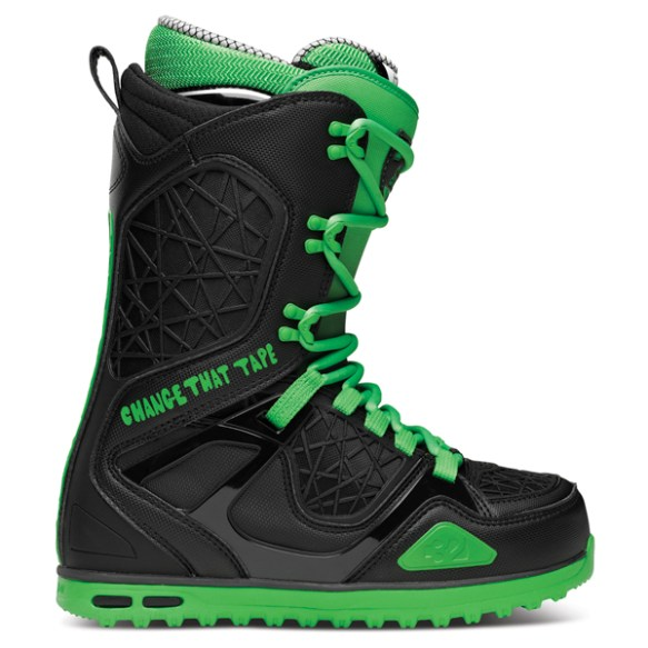 Thirtytwo TM-TWO Stevens Snowboard Boots 2014 in Black Green