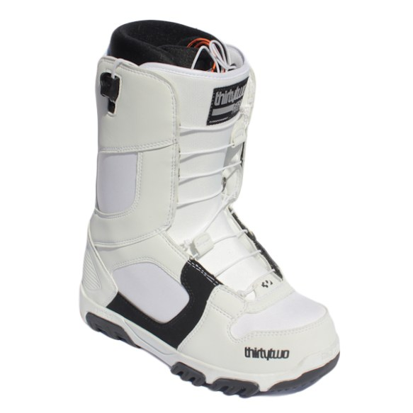 ThirtyTwo Prion FastTrack Snowboard Boots 2011 in White Black