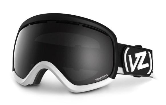 Von Zipper Skylab Snowboard Goggles Frostbyte Black White Black Chrome 2014