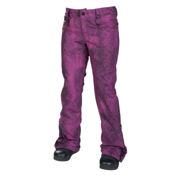 686 Reserved Secret Womens Snowboard Pants Orchid Python 2014