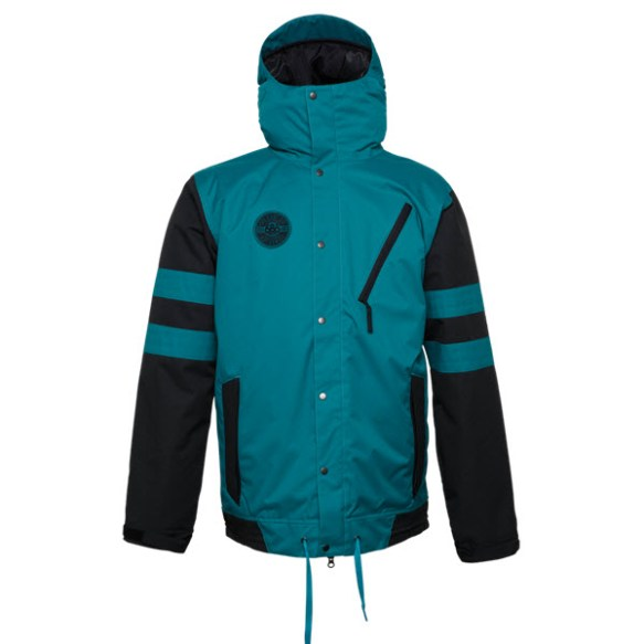 686 Authentic Class Jacket Mallard Colorblock Snowboard Jacket Large Sample 2015
