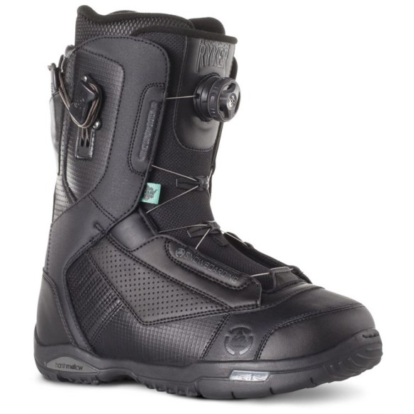 K2 Ryker BOA Snowboard Boots Sample 2015 Black UK 8