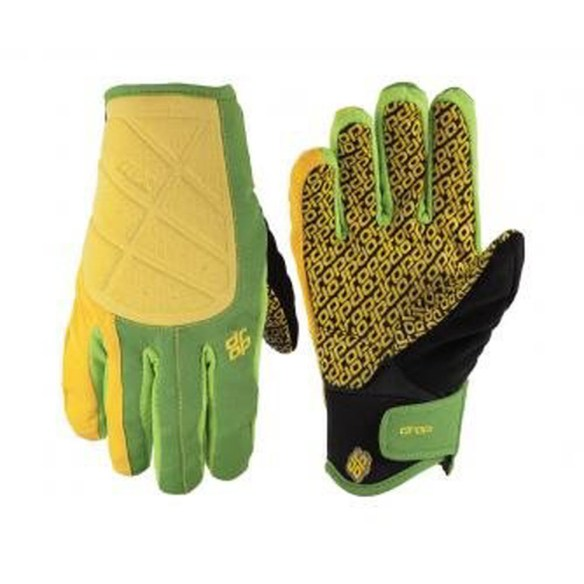 Drop Vac II Pipe Snowboard Gloves in Lemone Lime Medium