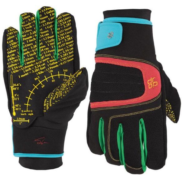 Drop Simon Aquabloc Pipe Snowboard Glove in Simon