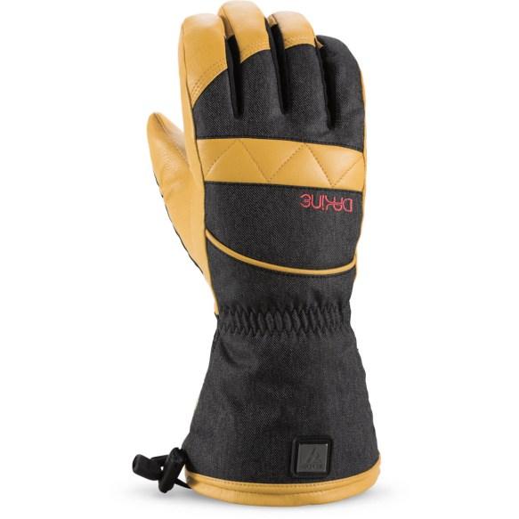 Dakine Topaz Womens Snowboard Ski Gloves Gore-Tex Denim 2015 Medium